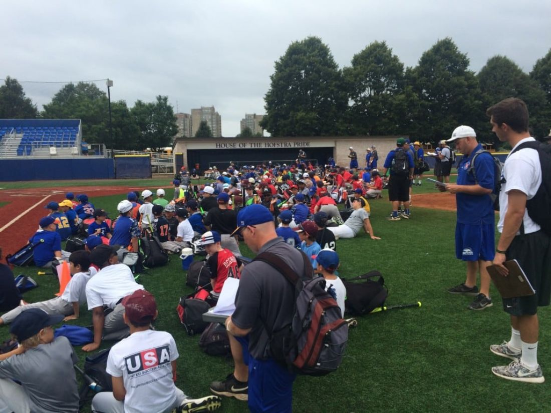 Recap of Week 5 of the New York Baseball Academy at Hofstra